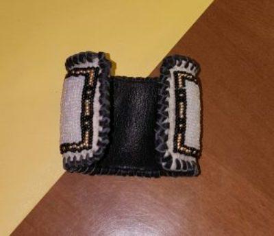 Running Horse Design Cuff Bracelet