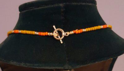 Hippie Girl Flower Power Necklace