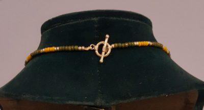 Hippie Girl Heart Necklace